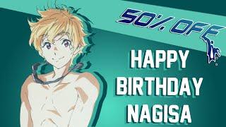 50% OFF: Happy Birthday, Nagisa Hazuki | Octopimp