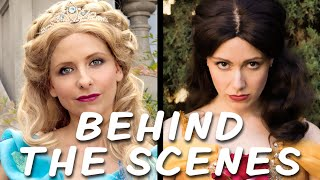 CINDERELLA vs BELLE Behind the Scenes (Princess Rap Battle)