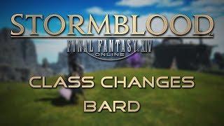 Stormblood Class Changes: Bard