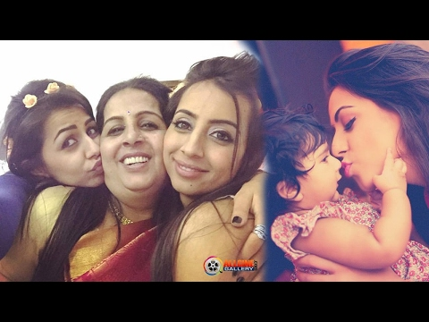 Actress Nikki Galrani Family Photos with Parents & Sister- New 2017