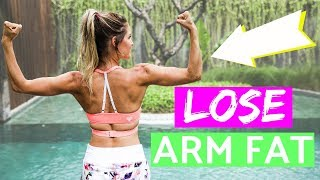 How To Lose Arm Fat | Rebecca Louise