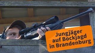Bockjagd In Brandenburg: Jungjäger Erlegen Das Erste Stück Rehwild!