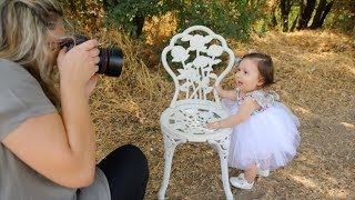 ADORABLE KIDS PORTRAITS Photography outdoor with natural light VLOG 036
