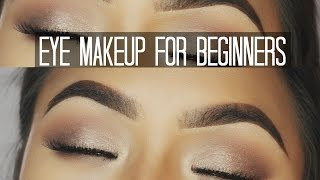 How to apply eyeshadows for beginners ✔️ Mia Randria