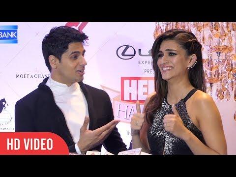Xxx Mp4 Sidharth Malhotra And Kriti Sanon At HELLO Hall Of Fame Awards 2018 3gp Sex