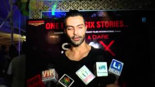 1ST LOOK LAUNCH OF FILM SIX X WITH SWETA TIWARI