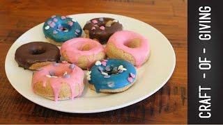 GF & DF Glazed Donuts (Vegan friendly) | Craft of Giving