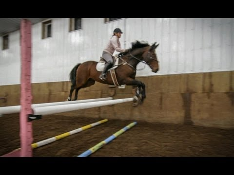 Horse Riding - Show Jumping Girl - Glidecam HD 2000