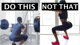 How (NOT) To Squat - 16 Mistakes to Avoid