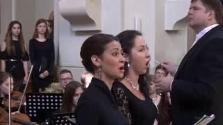 Sankt Peterburgo simfoninio orkestro su Molėtų mišriu choru ir LMTA solistais koncerto fragmentas