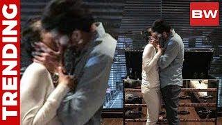 Mahesh Babu's Passionate Kiss with his Lady