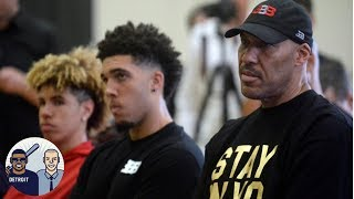 What is LaVar Ball thinking in moving LiAngelo and LaMelo to Lithuania? | Jalen & Jacoby | ESPN