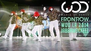 Jabbawockeez | FRONTROW | World of Dance #WODLA '14