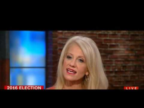 Kellyanne Conway snaps at CNN host Alisyn Camerota Are you calling him a liar