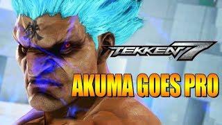 AKUMA GOES PRO: Online Tournaments - Tekken 7