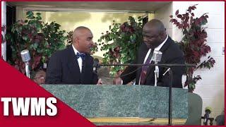 2017 Pastor Gino Jennings & Minister Smith Debate TRINITY  2017