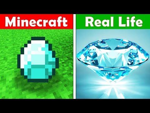 Xxx Mp4 MINECRAFT DIAMONDS IN REAL LIFE Minecraft Vs Real Life Animation 3gp Sex