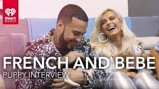 French Montana and Bebe Rexha Name Puppies | iHeartRadio Music Festival