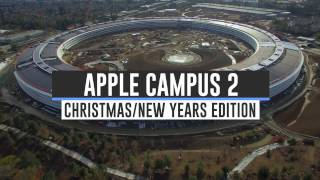 APPLE CAMPUS 2 Christmas/New Years Update 4K