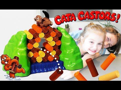 Challenge Cata Castors ! Détruire le barrage sans faire tomber l'animal !