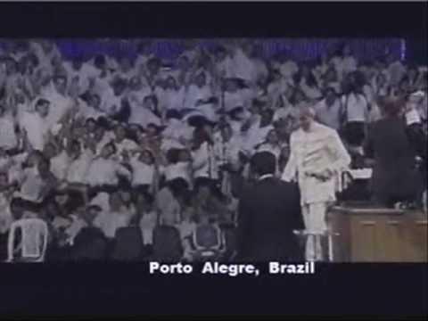 Benny Hinn Espírito Santo Que Cai Em Brasil