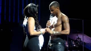 Trey Songz and Fan Vanessa Mejia!!!!!