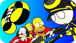 CRAZY TAXI Review +The SIMPSONS Road Rage Review