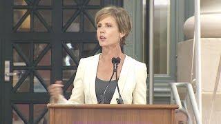 Sally Yates speaks at Harvard Law School's 2017 Class Day Ceremony