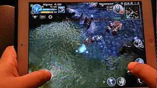 IOS/Android gaming: Heroes of Order and Chaos