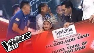 Little Superstar Lyca Gairanod wins Voice Kids PH