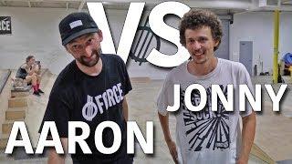 ANYTHING ON FLATGROUND COUNTS   AARON KYRO VS JONNY GIGER