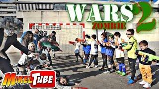 MikelTube Wars 2 - La Invasión Zombie Nerf