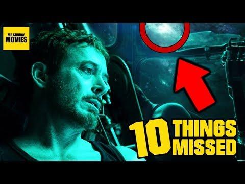 Avengers Endgame Trailer Easter Eggs & Things Missed