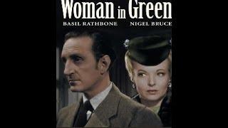 Sherlock Holmes The Woman in Green 1945 in Colour English Subtitles Basil Rathbone Nigel Bruce