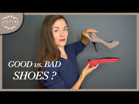 How to recognize good vs. bad quality shoes Justine Leconte