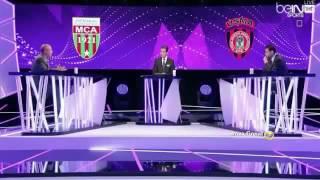 Tifos usma vs mca Hafid Derradji تيفو الدربي مولودية الجزائر و اتحاد العاصمة بتعليق حفيظ دراجي