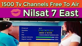 1500 Free tv channels and dish setting list 2018