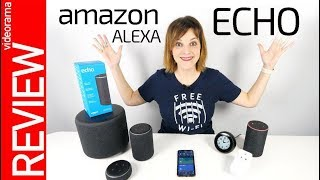 Amazon Echo con Alexa -interrogatorio en ESPAÑOL-