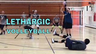 LETHARGIC VOLLEYBALL - NCVA Semifinals HIGHLIGHTS (NCVA 2017 League 3)