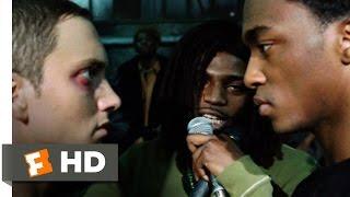 8 Mile (2002) - Rabbit Battles Papa Doc Scene (10/10) | Movieclips