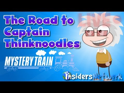 Poptropica Road to Captain Thinknoodles Mystery Train Live Stream Replay