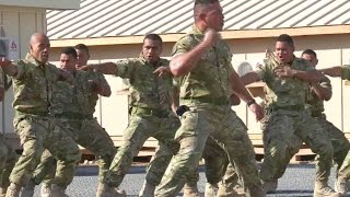 Tongan Marines War Dance - Don't Mess With These Warriors