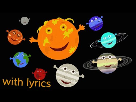 The Solar System Song with lyrics