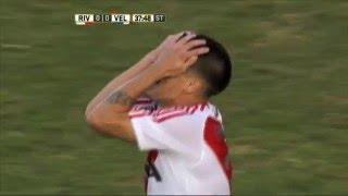 El palo embrujado. River 0 Vélez 0. Fecha 13. Primera División 2016