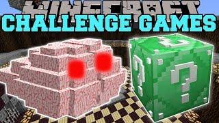 Minecraft: BRAIN CHALLENGE GAMES - Lucky Block Mod - Modded Mini-Game