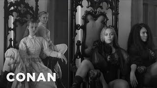 Elle Fanning Got To Sit In Beyoncé's