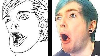 DRAW THE YOUTUBER CHALLENGE