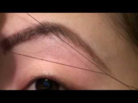 Beauty Basics: Threading Eyebrows