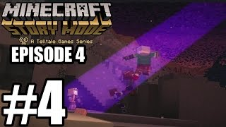 Minecraft: Story Mode Episode 4  - Gameplay Walkthrough Part 4 - No Commentary [ HD ]