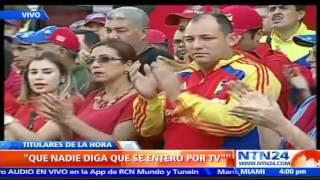Maduro cita a Ramos Allup al Consejo de Defensa de la Nación: